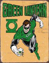 Nostalgic Art Plechová cedule - Green Lantern (Retro)