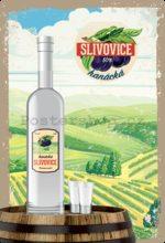 Nostalgic Art Plechová cedule: Hanácká slivovice - 20x30 cm