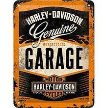 Nostalgic Art Plechová cedule - Harley - Davidson /Garage/