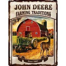 Nostalgic Art Plechová cedule - John Deere (Farming traditions)