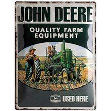 Nostalgic Art Plechová cedule John Deere Quality Farm Equipment