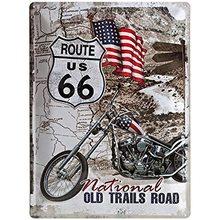 Nostalgic Art Plechová cedule Route 66 Old Trails Road