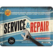 Nostalgic Art Plechová cedule – Service & Repair