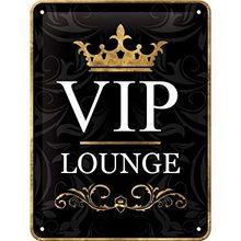 Nostalgic Art Plechová cedule – VIP Area