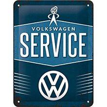 Nostalgic Art Plechová cedule – VW Service