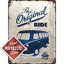 Nostalgic Art Plechová cedule - VW The Original Ride Special Edition