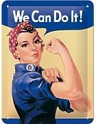 Nostalgic Art Plechová cedule – We Can Do It!