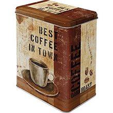 Nostalgic Art Plechová dóza-Best Coffee In Town