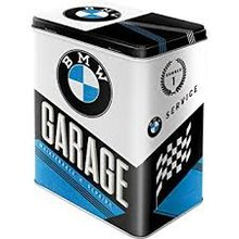 Nostalgic Art Plechová dóza- BMW-Garage