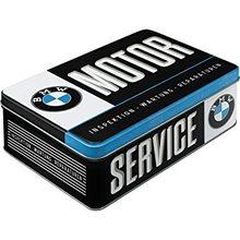 Nostalgic Art Plechová dóza-BMW-Motor-Service