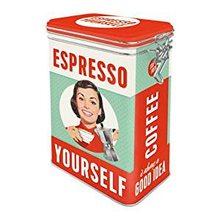 Nostalgic Art Plechová dóza -  Espresso Yourself