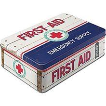 Nostalgic Art Plechová dóza-First Aid
