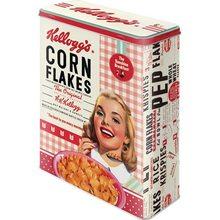 Nostalgic Art Plechová dóza Kellogg's Cornflakes Girl