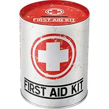 Nostalgic Art Plechová kasička - First Aid