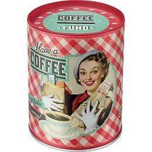 Nostalgic Art Plechová kasička - Have a Coffee