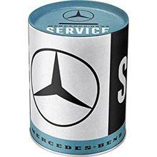 Nostalgic Art Plechová kasička - Mercedes-Benz Service