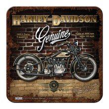 Nostalgic Art Podtácek Harley-Davidson Genuine II