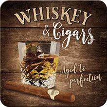 Nostalgic Art Podtácek Whiskey & Cigars