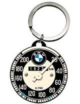 Nostalgic Art Retro klíčenka kulatá-BMW-Tachometer