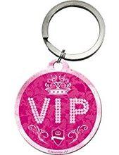 Nostalgic Art Retro klíčenka kulatá-VIP-Pink