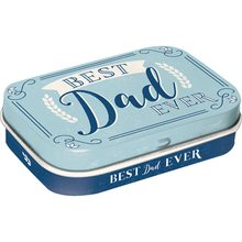 Nostalgic Art Retro mint box Best Dad Ever