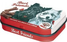 Nostalgic Art Retro mint box Best Friends