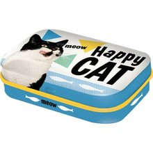 Nostalgic Art Retro Mint Box-Happy Cat