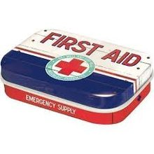 Nostalgic Art Retro mint box Pharmacy First Aid