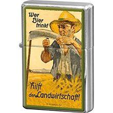 Nostalgic Art Retro zapalovač-Wer Bier Trinkt