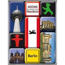 Nostalgic Art Sada magnetů Berlin