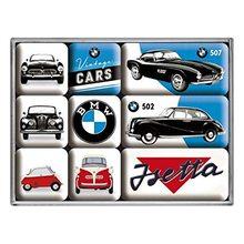 Nostalgic Art Sada magnetů BMW Vintage Car