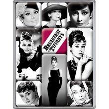Nostalgic Art Sada magnetů Breakfast at Audrey Hepburn Tiffany's
