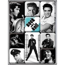 Nostalgic Art Sada magnetů Elvis Presley Rock n Roll