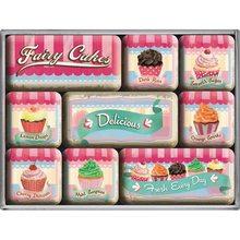 Nostalgic Art Sada magnetů Fairy Cakes