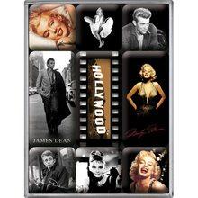 Nostalgic Art Sada magnetů Hollywood