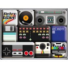 Nostalgic Art Sada magnetů Retro Wave Media