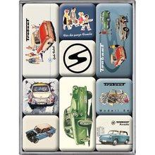 Nostalgic Art Sada magnetů Trabant