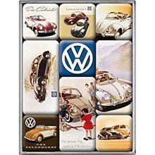 Nostalgic Art Sada magnetů - Volkswagen