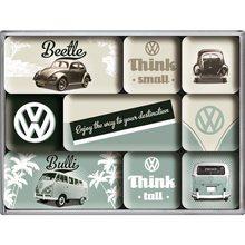 Nostalgic Art Sada magnetů Volkswagen VW-Think Tall