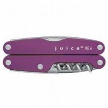 Leatherman Víceúčelové kleště Juice XE6, fialové