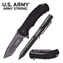 MTech Sade ARMY STRONG - Taktické pero / Nůž Gray