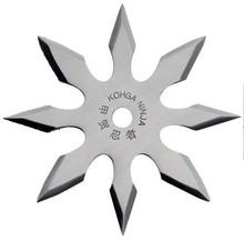 """No NAME Vrhací hvězdice """"Silver 8"""" osmicípá (Chladné zbraně) + pouzdro ZDARMA"""