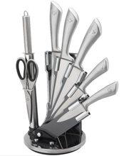 Royalty Line Royalty Line 8-dílná sada ocelových nožů, nůžek a ocílky RL-KSS600