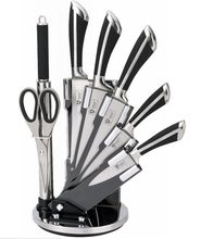 Royalty Line Royalty Line 8-dílná sada ocelových nožů, nůžek a ocílky RL-KSS700