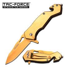 Tac-Force Nůž  TF-903GD SPRING ASSISTED KNIFE