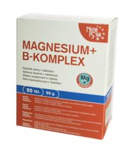 NutriStar MAGNESIUM + B-KOMPLEX, 90 tbl. / 90 g