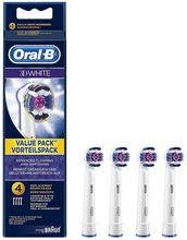 Oral-B Oral-B 3D White Replacement Brush Heads 4 Pack