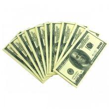 Paper +  Design  Ubrousky bankovky 100 dolarů