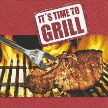 Paper +  Design  Ubrousky It´s time to Grill