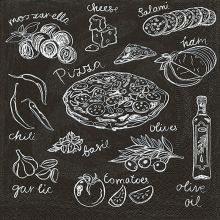 Paper +  Design  Ubrousky Pizza recipe